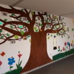 Der Buddy Baum in der Kommunalen Gemeinschaftsunterkunft VII Oldenburg