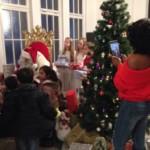 Geflüchtete Weihnachtsschmuck
