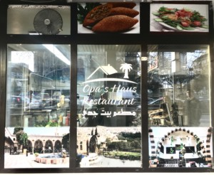 """Syrische Küche wird in """"Opa's Haus Restaurant"""" serviert"""